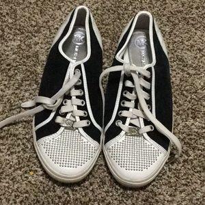 MK cloth sneakers